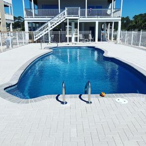 Photo for PRIVATE BEACH OPEN FOR GUESTS AND LARGE NEW POOL!!!!