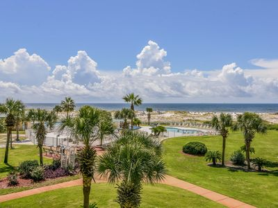 Photo for NEW LISTING! Waterfront condo w/ pools, hot tub, tennis, & beach access