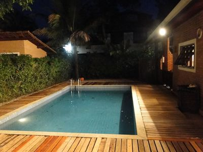 Photo for Beautiful house near the beach in Itamambuca condominium safely