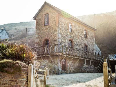 Photo for Unique Beachside Cornish Engine House - 2020 DATES NOW LIVE!