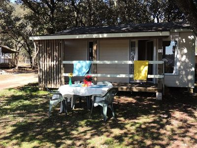 Photo for Camping Domaine de Gajan **** - Chalet 3 Rooms 5/7 Persons