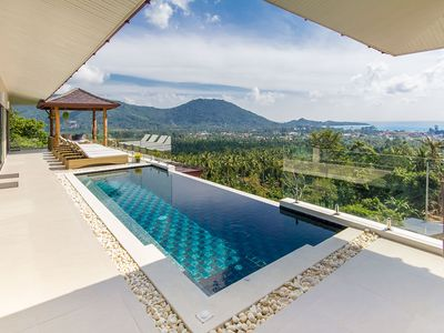 Photo for 4 bedrooms villa Seaview Koh Samui Lamai