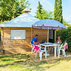Photo for Camping Lou Pantaï *** - Simply Lodge 3 Rooms 4 People