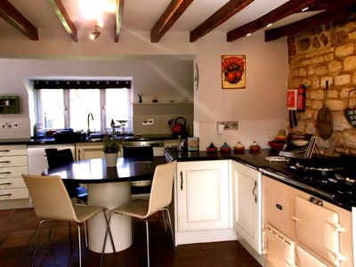 Photo for Magnificent 18th Carr stone cottage.