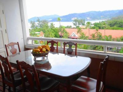 Photo for Patong Beach Apartment 2 Bedroom Seaview 80sqm