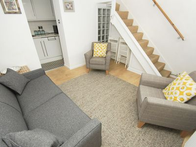 Photo for Marine Garden: 2 bedroom, sleeps 6, roof terrace, WiFi, short walk to beach and Brighton Pier