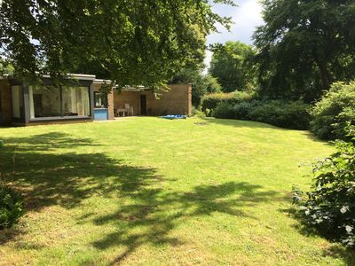 Photo for Close to the beach holiday house in a quiet wooded area