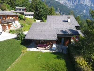 Photo for Vacation home Les Falaises in Ovronnaz - 8 persons, 4 bedrooms