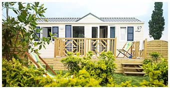 Photo for Camping Isle Verte **** - 3 room cottage 4 people