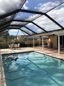 Photo for Beautiful 3 bd 2 bath home with a pool on 1-1/4 acre property.