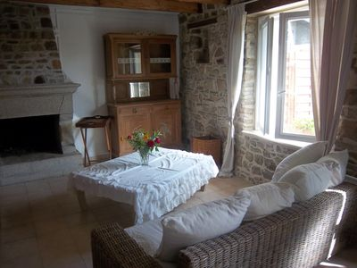 Photo for stone house acces wifi anvc accepts paimpol plourivo 4km beaches