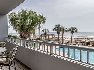 Photo for Beach Front Condo, Spacious, Clean and Comfortable