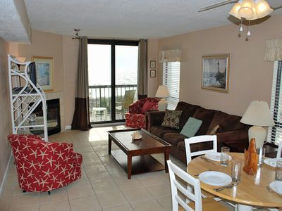 Photo for Beautiful 3 Bed/2 Bath Ocean Front Condo...Indoor and Outdoor Swimming Pools!!!
