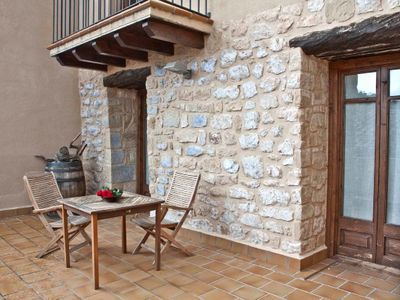 Photo for Rural apartment La Morada del Cura for 4 people (PIEDRA)