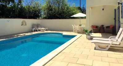 Heated pool and large terraces