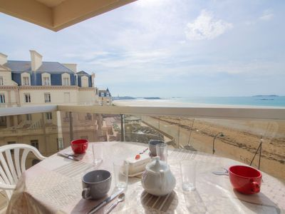 Photo for Apartment Cézembre  in Saint Malo, Brittany - Northern - 4 persons, 2 bedrooms