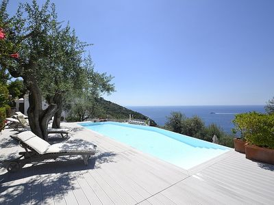 Photo for Villa Libellula: A charming and bright three-story villa which faces the sun and the sea, with Free WI-FI.