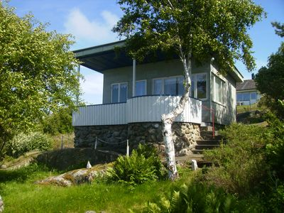 Photo for A summer cottage on the west coast of Gothenburg archipelago with private beach
