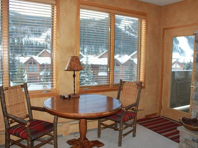Photo for Gateway River Run: 2 Master Suites, Walk to Lifts, Slope Views, Washer/Dryer