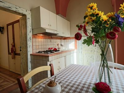 Photo for Holiday home Bilo al Piano in a renovated 18th century mansion in Matino