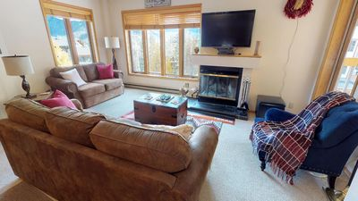 Photo for Luxury Condo Steps to Lifts - Corner Unit - Great Views - Large Deck