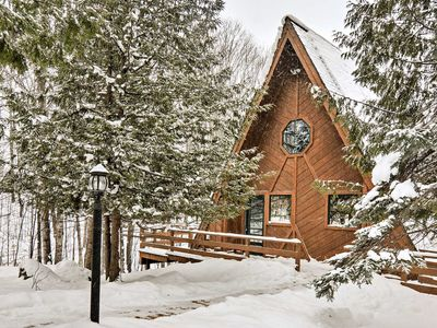 Photo for Secluded Gaylord Ski Chalet w/Sauna-Mins to Slopes