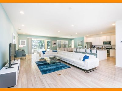 Photo for Solterra Resort 35 - Luxury villa with pool, game room & home theater near Disney