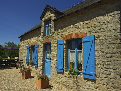 Photo for Lodging 3 * 2 steps from Kerhinet between salt marshes of Guerande and Marshes of Brière