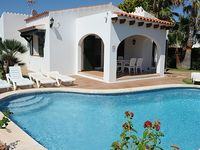 Great villa in a lovely location very close to the sea