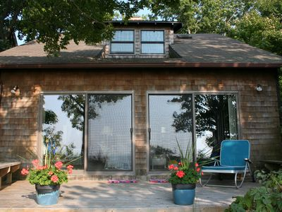 Beachfront Cottage On Lk Mich At Port Sheldon (8 mi. N of Holland)