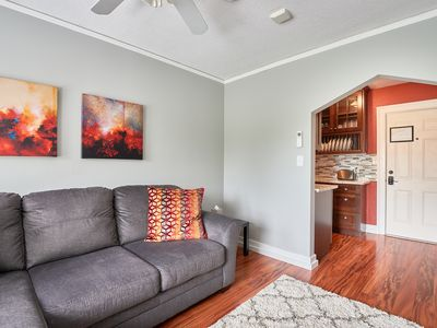 Enjoy the downtown vibe at the Yamhill Flats: Suite 3
