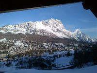 Excellent apartment with views over Cortina