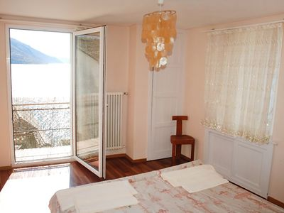 Photo for Apartment 5 m from the center of Brissago with Parking, Internet, Balcony, Terrace (46771)
