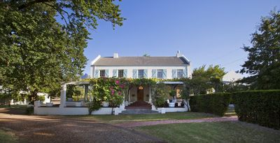 Photo for Exclusive cape winelands manor house on a boutique wine estate, sundrenched pool