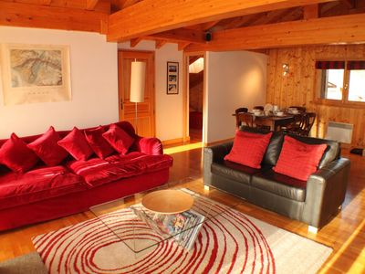 Photo for A fantastic 3 bedroom apartment near Les Gaillands, offering a comfortable stay in Chamonix