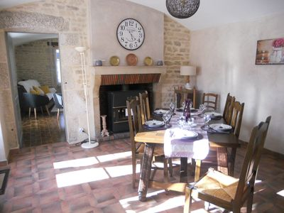 Photo for Farmhouse in Burgundy 5 to 7 pers. space & comfort