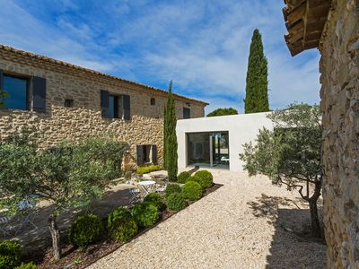 Photo for Beautiful Provencal farmhouse: Available June/September with pool & tennis court