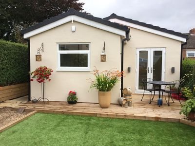 Photo for The Annexe is a newly completed, detached bungalow in the garden of our home.