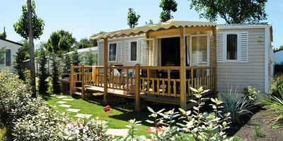 Photo for Camping Les Grosses Stones ***** - Mobil Home Privilege 4 Rooms 6 People