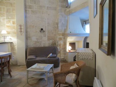 Photo for Historic center: Charming apartment in a 15th century mansion