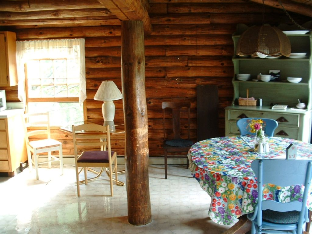 Log cabin in the white mountains of new hampshire for New hampshire log cabins
