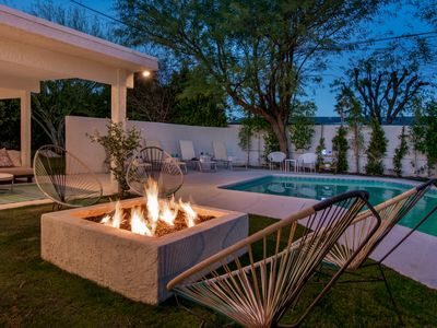 Photo for MPJ-A newly remodeled modern Alexander designed home with a new spa and pool!