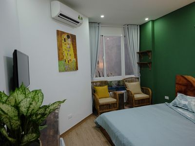 Photo for The Gallery House - Cozy Room with 1 Queen Bed & Window/ Hanoi Center #B1