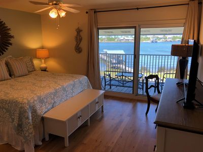 Photo for 3BR/2BA Waterfront Condo | Large Balcony with Gorgeous Views | Boat Docks
