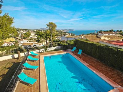 Photo for La Boniquessa-6 - sea view villa with private pool in Benissa