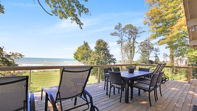 Photo for Bright Lake Michigan Cottage w/ Large Yard, No Stairs to Beach