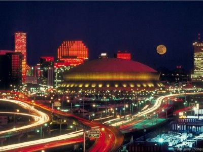 New Orleans at night!