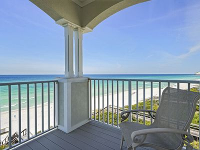 Photo for Beautiful Gulf-Front Condo on 30A w/ Gulf Views! Book for Spring Break!