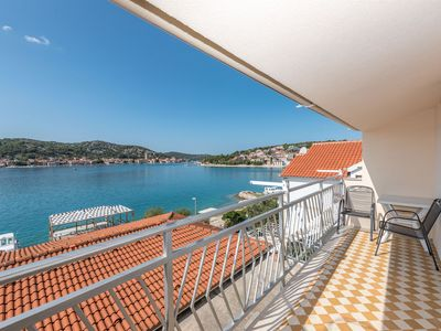 Photo for Apartments Carmen (24601-A1) - Tisno - island Murter