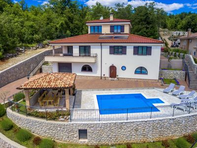 Photo for 6 bedroom Villa, sleeps 12 in Kastav with Pool, Air Con and WiFi